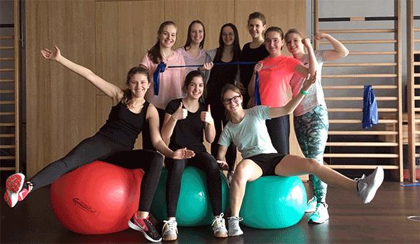 Aus Schülerinnen werden Trainerinnen