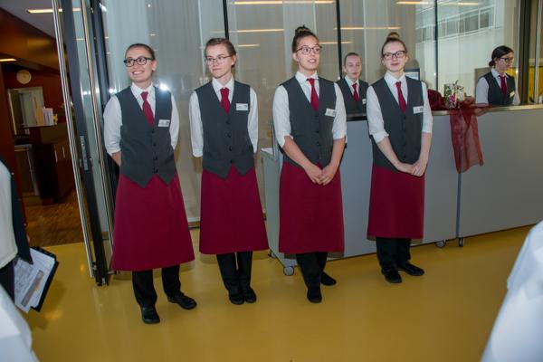 Prüfung in den Bereichen Küchenmanagement und Restaurantmanagement