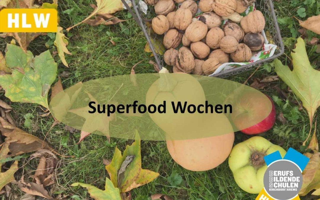 Super Food Monat im Schulrestaurant