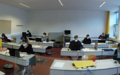 Schularbeiten in Corona-Zeiten